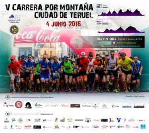 Cartel CXM Teruel 2016 Patrocinadores